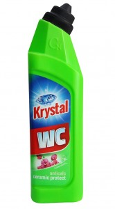 Krystal ŻEL do WC zielony ceramic protect 750ml