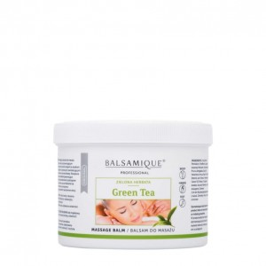 Balsamique GREEN TEA Massage Balm  500ml BALSAM do masażu ZIELONA HERBATA