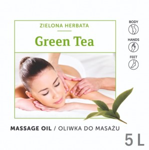 Balsamique GREEN TEA Massage Oil 5L OLIWKA do masażu ZIELONA HERBATA