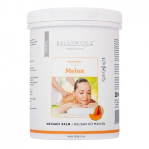 Balsamique MELON Massage Balm 1000ml melonowy BALSAM do masażu