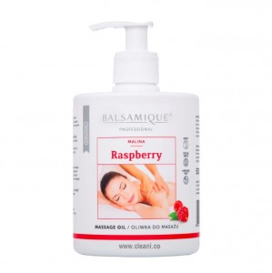 Balsamique RASPBERRY Massage Oil  500ml Malinowa OLIWKA do masażu