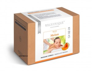 Balsamique MELON Massage Candle 170ml Melonowa świeca do masażu