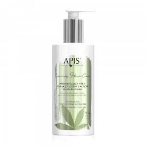 APIS Cannabis home care  Krem do rąk regenerujący z ol. konopnym 300ml